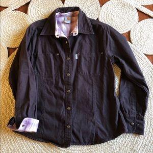 Carhartt Jacket. Size Medium. Brown.